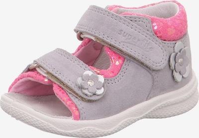 SUPERFIT Sandalias 'Polly' en gris / rosa, Vista del producto