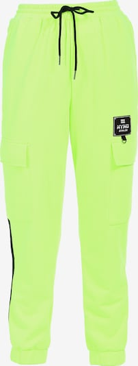 myMo ATHLSR Sportbroek in de kleur Neongeel, Productweergave