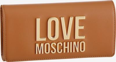Love Moschino Portemonnaie in camel, Produktansicht