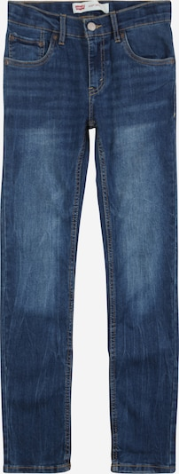 LEVI'S Jeans '510 Skinny Cozy' in blue denim: Frontalansicht