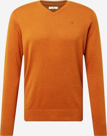 oranžs TOM TAILOR Džemperis