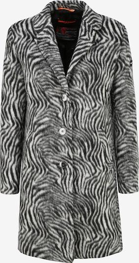 Frieda & Freddies Wollmantel 'Venezia' in grau / schwarz, Produktansicht