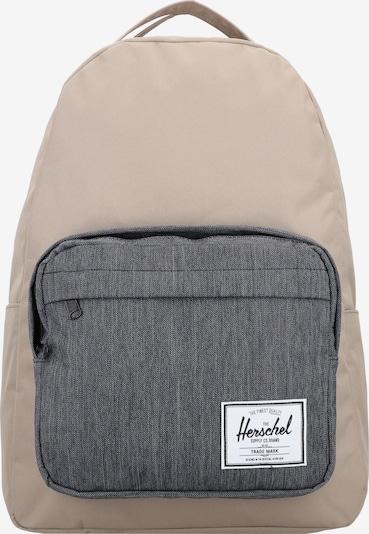 Herschel Rucksack 'Miller' in camel / dunkelgrau, Produktansicht