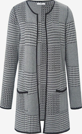 Peter Hahn Strickjacke in schwarz / weiß, Produktansicht