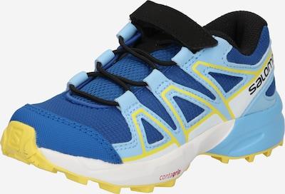 SALOMON Sport-Schuh 'SPEEDCROSS BUNGEE' in blau / hellblau / limone / weiß, Produktansicht