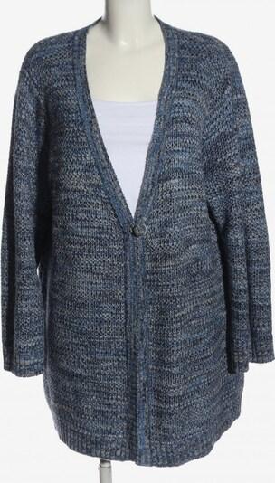 G.W. Strick Cardigan in 4XL in blau / schwarz / weiß, Produktansicht