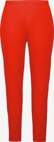 Leggings Ulla Popken en rouge