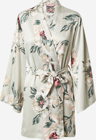 Hunkemöller Dressing gown in Beige / Turquoise / Petrol / Wine red, Item view