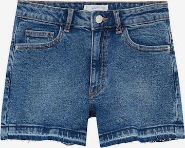 MANGO KIDS Jeans 'Emma' i blå