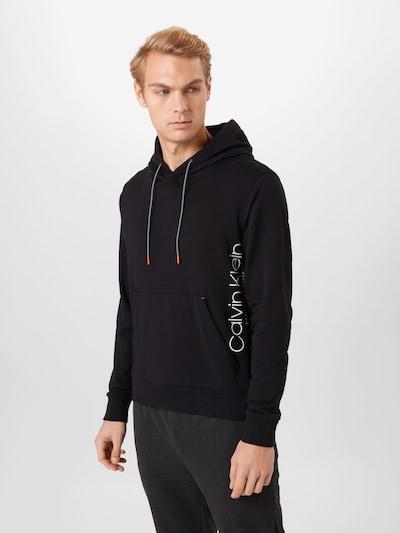 Megztinis be užsegimo iš Calvin Klein , spalva - juoda / balta: Vaizdas iš priekio