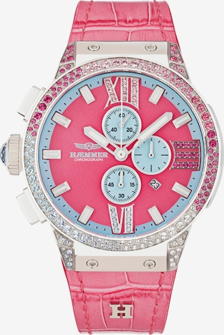 HAEMMER Analog Watch in Pink