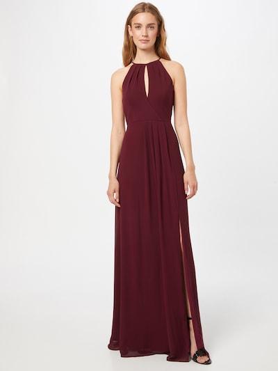 STAR NIGHT Kleid in rubinrot, Modelansicht