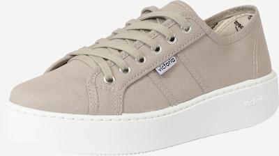 VICTORIA Sneaker 'UTOPIA LONA' in dunkelbeige, Produktansicht
