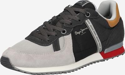 Pepe Jeans Tenisky 'TINKER ZERO 21' - koňaková / šedá / tmavě šedá / černá, Produkt