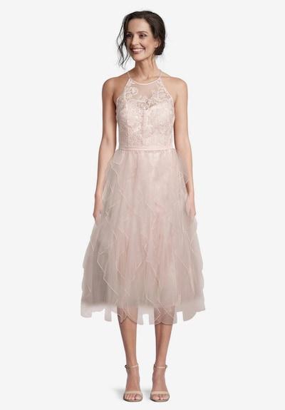 Vera Mont Cocktailkleid in apricot / pfirsich / rosa, Modelansicht