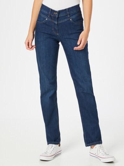 GERRY WEBER Jeans 'Best4me' in blue denim, Modelansicht