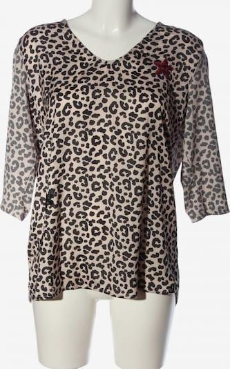 Key Largo Schlupf-Bluse in L in creme / schwarz, Produktansicht