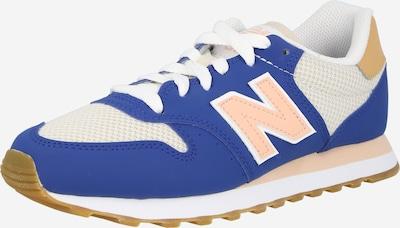 Sneaker low '500' new balance pe albastru / portocaliu piersică / alb, Vizualizare produs