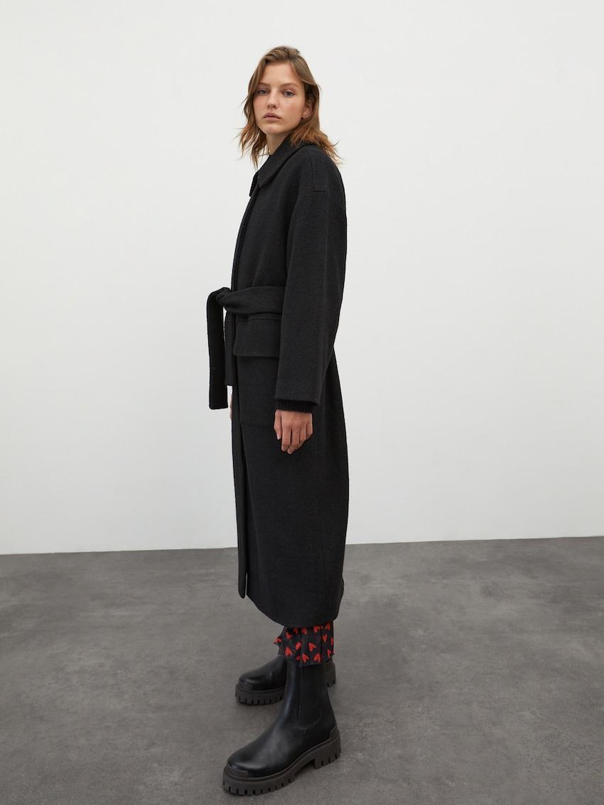 Manteau mi-saison 'Una'