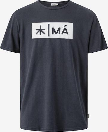 MÁ Hemp Wear Shirt 'Reggie' in Grau