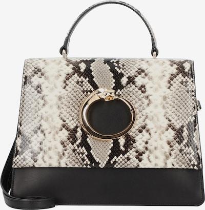 roberto cavalli Viper Handtasche Leder 29 cm in beige / braun / schwarz, Produktansicht