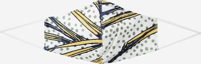 Rich & Royal Stoffmaske in blau / grau, Produktansicht