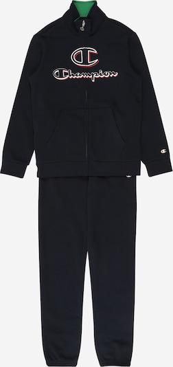 Champion Authentic Athletic Apparel Jogginganzug in navy / rot / weiß, Produktansicht