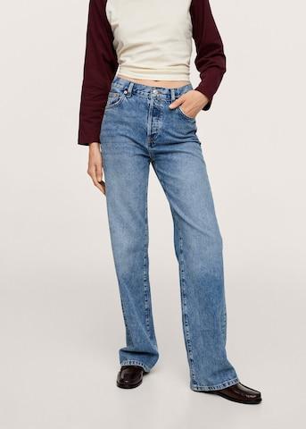 MANGO Jeans 'Kaia' in Blauw