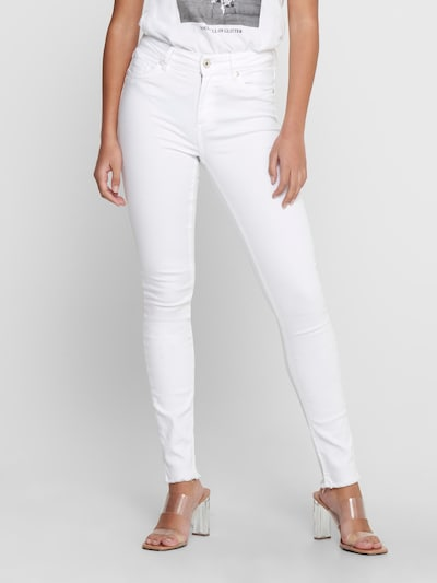 ONLY Jeans 'BLUSH MID ANKLE WHITE' in White, View model