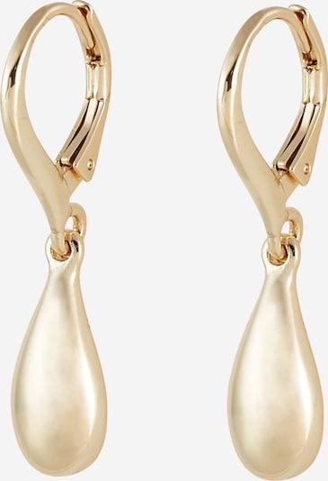 Lauren Ralph Lauren Boucles d'oreilles 'TEARDROP' en or, Vue avec produit