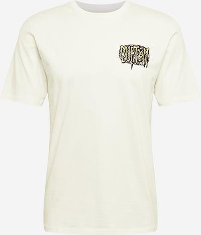 BURTON Sporta krekls gaiši dzeltens / gaiši pelēks / melns / balts, Preces skats