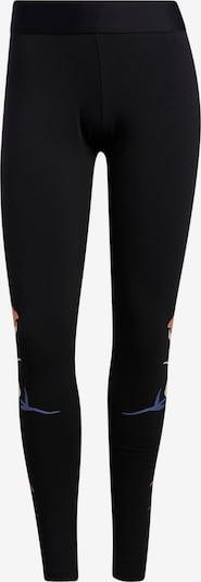 ADIDAS PERFORMANCE Leggings in beige / blau / schwarz, Produktansicht