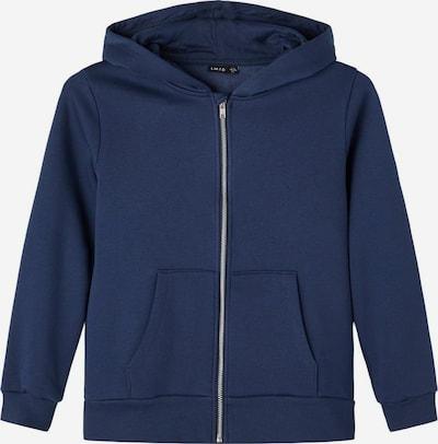 LMTD Zip-Up Hoodie in Blue, Item view