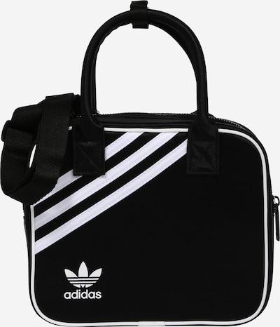 ADIDAS ORIGINALS Handväska i svart / vit, Produktvy