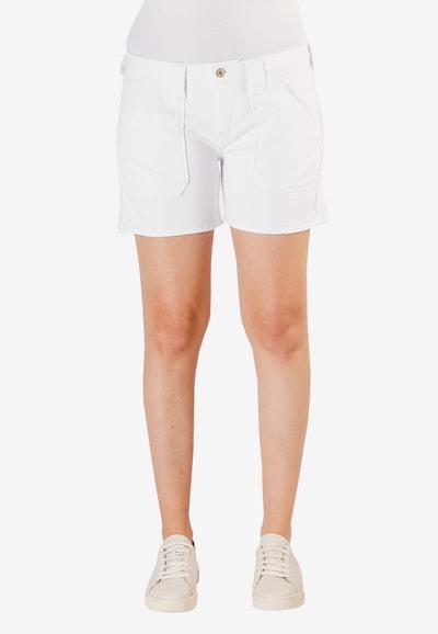 Le Temps Des Cerises Shorts 'Olsen2' in weiß, Modelansicht