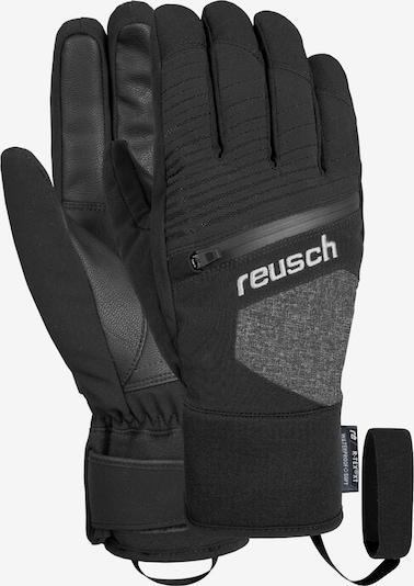 REUSCH Fingerhandschuhe 'Theo R-TEX® XT' in grau / schwarz, Produktansicht