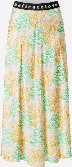 DELICATELOVE Skirt 'Sara' in yellow gold / Green / Powder / Black / White, Item view