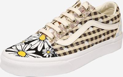 Sneaker low 'Old Skool' VANS pe bej / ciocolatiu / galben / negru / alb, Vizualizare produs