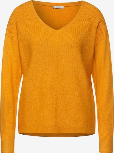 STREET ONE Pullover in gelb, Produktansicht