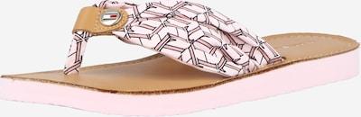 TOMMY HILFIGER Žabky - růžová / světle růžová / černá, Produkt