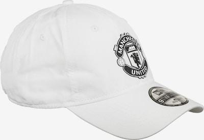 NEW ERA Cap '9TWENTY Manchester United' in schwarz / weiß, Produktansicht
