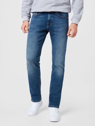 BOSS Casual Jeans 'Delaware' in blue denim, Modelansicht