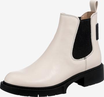 COACH Chelsea Boots in Beige