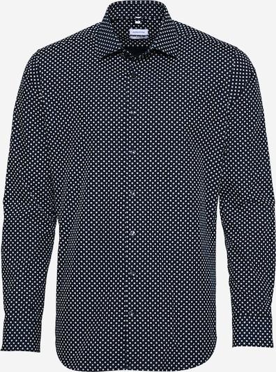 SEIDENSTICKER Shirt in light blue / dark blue / white: Frontal view