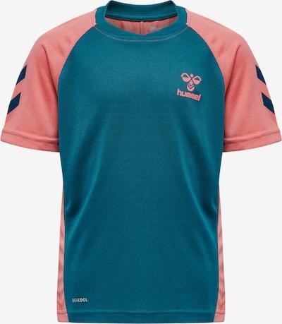 Hummel Shirt in türkis / koralle, Produktansicht