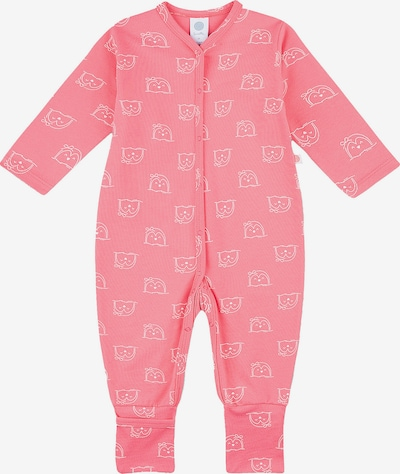 SANETTA Schlafanzug in rosé / weiß, Produktansicht