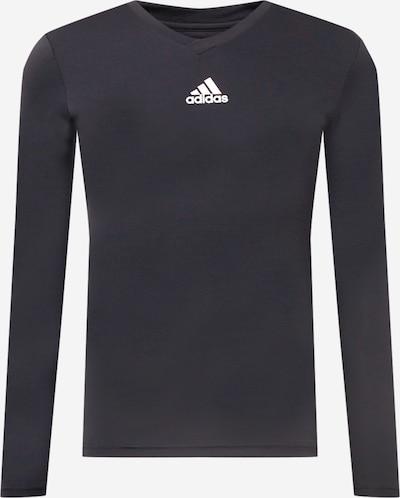 ADIDAS PERFORMANCE Camiseta de fútbol en negro / blanco, Vista del producto