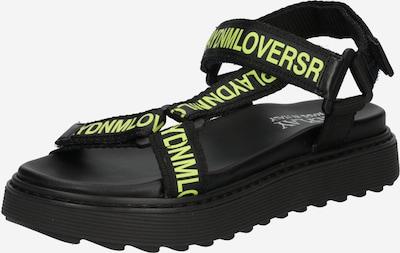 REPLAY Sandale 'WREXHAM' in grün / schwarz, Produktansicht