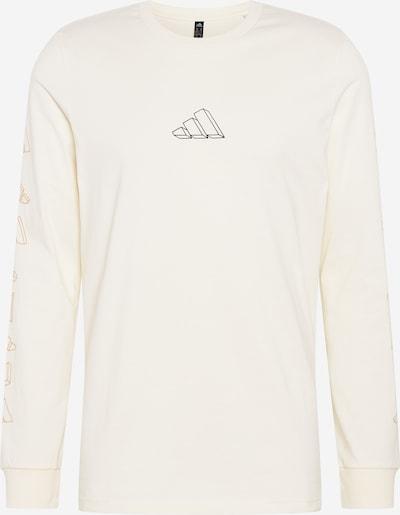 ADIDAS PERFORMANCE Camiseta funcional 'REPEAT' en negro / blanco, Vista del producto