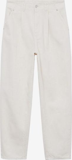 MANGO Jeans 'Corinna' in white denim: Frontalansicht